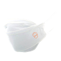 Ribcap Washable Mouth Mask White