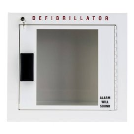 Philips Heartstart AED wall cabinet White